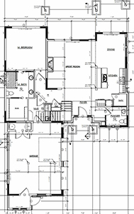 New Construction 1 First Floor Layout